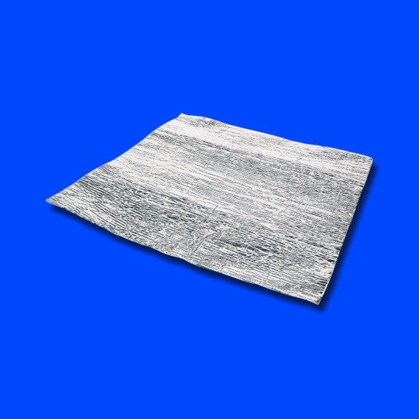 Aluminiumbeschichteter Hitzeschutz 30,4 x 30,4 cm