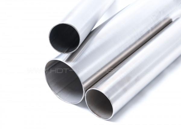 Edelstahlrohr Meterstücke 33,7 bis 114,3x2,0 mm